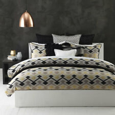 Ultima Logan and Mason DELTA LINEN Duvet Doona Quilt Cover Set 3 Sizes