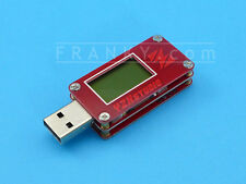 USB 2.0 LCD Power Monitor (Red) YZXstudio ZY1265 QC 3.0 Voltage Current Meter