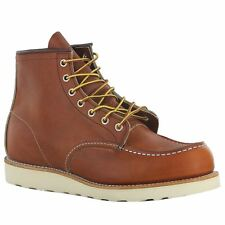 Red Wing Moc Lug 875 Brown Mens Boots