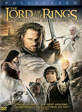The Lord of the Rings: The Return of the King (DVD, 2004, 2-Disc Set FREE SHIP