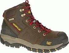 Caterpillar Navigator Mid Waterproof Steel Toe Men's Work Boots - Clay