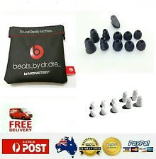 New Replacement Pouch & Sets Silicon Earbuds For Beats Dr.Dre Monster Urbeat AU