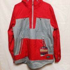 Under Armour Mens ColdGear Infrared Montage Jacket 124876 Grey/Red   NWT