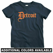 Detroit Gothic T-shirt - Baby Toddler Youth Tee - Gangster Hip-Hop Rap Michigan