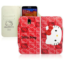 Hello Kitty Galaxy S4, S3 Case Wallet Cover Clutch Made Korea Face Lock 5Colors