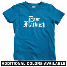 East Flatbush Gothic Brooklyn Kids T-shirt - Baby Toddler Youth Tee - New York