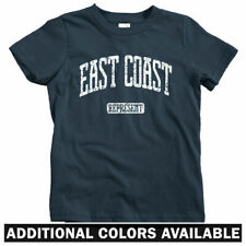 East Coast Represent Kids T-shirt - Baby Toddler Youth Tee - New York Boston DC