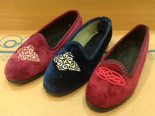 New Womens Slippers Shoes Moccasin Outdoor-Indoor Slip On Warm Furry Loafer Size