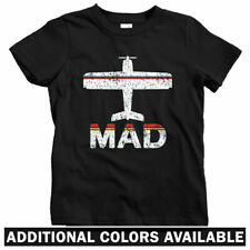 Fly Madrid MAD Airport Kids T-shirt - Baby Toddler Youth Tee - Spain Espana Gift