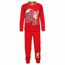 Liverpool Football Club Official Soccer Gift Boys Toddler Kids Pajamas Red