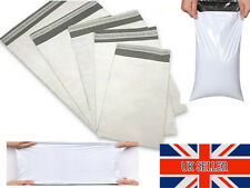 BEST PRICE White Poly Strong Plastic Postal Postage Post Mail Bags Self Seal