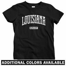 Louisiana Represent Kids T-shirt - Baby Toddler Youth Tee - New Orleans NOLA 504