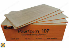 Pourform 107 Formwork Plywood - Concrete Forming Panel MDO Plywood Sheets