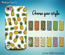 Pineapple Emoji Pattern Awesome Funny Cool Fun Case for iPod Touch 6th 5th Gen
