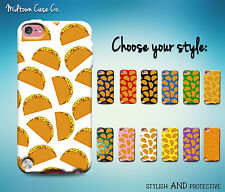 Tacos Pattern Awesome Funny Cool Mexican Food Case for iPod Touch 6th 5th Gen