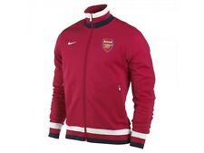 Nike Arsenal FC LU Soccer N98 LU Jacket 2012 - 2013 Brand New Red / White / Navy