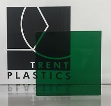 Dark Green Tinted Perspex Acrylic Plastic Sheet Cut to Size Tint Cast Coloured