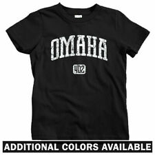 Omaha 402 Kids T-shirt - Baby Toddler Youth Tee - NB Nebraska Storm Chasers Gift