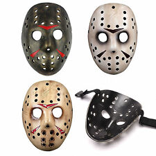 Horror Movie Friday 13th Jason Voorhees Hockey Mask Vintage Halloween Costume
