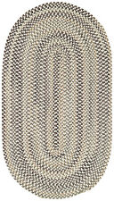Capel Rugs Sherwood Forest Wool Country Lodge Area Braided Rug Grey #300