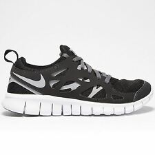 Nike Free Run 2 GS Black Youths Trainers - 443742-021
