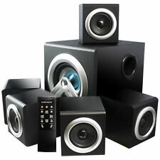 sumvision vcube 51 surround sound home theatre speakers system 28w rms amazoncom logitech z906 surround sound speakers rms