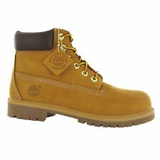 Timberland Authentic 6 Inch Waterproof Wheat Kids Boots - 12709 M