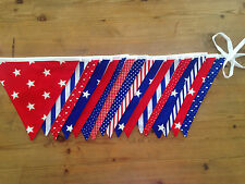 Stars and Stripes Bunting, Birthdays, Parties, Carnivals, Tents, Bedrooms.