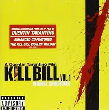 Kill Bill Volume Vol 1 17 Trk CD Album Soundtrack Film Movie Quentin Tarantino