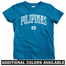 Pilipinas Philippines Kids T-shirt - Baby Toddler Youth Tee - Pinoy Filipino MNL