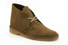 Clarks Originals Mens Desert Boot Cola Lace Up Suede Boot