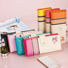 New Women Lady Long Clutch Leather Wallet Purse Checkbook Coin Card Bag US STOCK