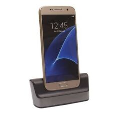 For Samsung Galaxy S7 S7 Edge Dual Desktop Sync Cradle Charger Dock Station