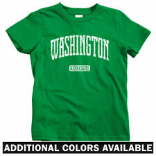 Washington Represent Kids T-shirt - Baby Toddler Youth Tee - DC Seattle Spokane