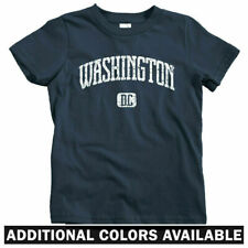 Washington DC Kids T-shirt - Baby Toddler Youth Tee - USA Souvenir White House