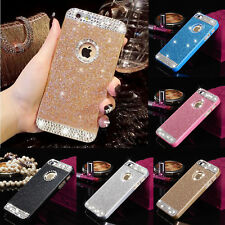 3D Bling Glitter Sparkle Crystal Rhinestone Hard Back Case Cover For iPhone