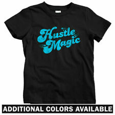 Hustle Magic Script Kids T-shirt - Baby Toddler Youth Tee - Hustler Entrepreneur