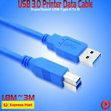 3.0 USB Type A to Type B Male Printer Extension Cable Lead For Canon Brother HP