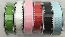 3Meters Grosgrain Ribbon Craft Gift Wrapping Bow Party Wedding Decor Sewing BULK