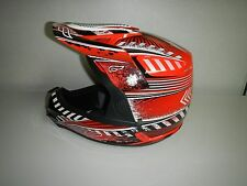 New Fulmer ECE 22-05 RX3 Velocity Red Off Road ATV Motorcross Adult Helmet XSM