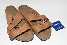 Birkenstock Oiled Leather Arizona Antique Brown 41 BNIB #159 ***CLEARANCE***