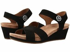 Women's UGG Veva Open Toe Strappy Suede Sandals 1011549 Black *New*