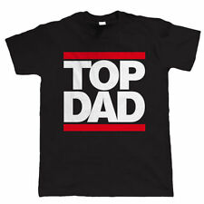 Top Dad, Mens T Shirt - Birthday Gift for Dad Him Fathers Day