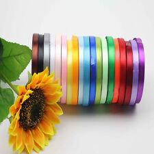 "Hot Sell Nice Multipurpose 3/8"" 5/8"" 25 Yards A Role Satin Ribbon ToP"