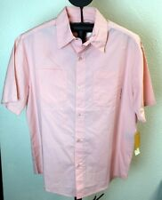 Hurley International Button Up Shirt Light Pink Size S or L NWT