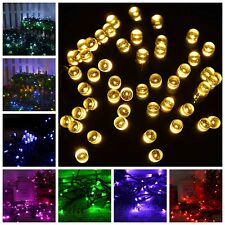 New 100 Led Solar Wedding Party Fairy String Light Outdoor Garden Lamp Decorate