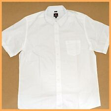 QUIKSILVER Mens Shirt *Size:M * WHITE Short Sleeve Top Authentic Brand NEW