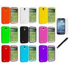 Tire Tread Silicone Cover Case+LCD Film+Stylus for Samsung Galaxy S4 SIV i9500