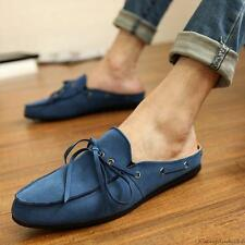 new mens casual lace up loafer suede leather Moccasins slipper Driving shoes