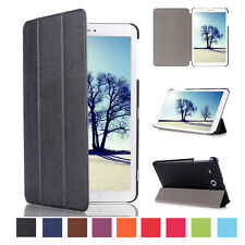 Ultra Slim Magnetic Leather Smart Case Stand Cover For SAMSUNG Galaxy Tab E 8.0